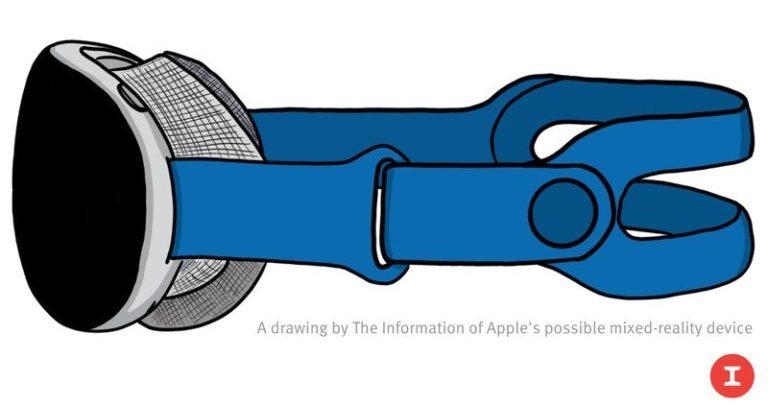 Apple chystá headset pro rozšířenou a virtuální realitu s 8K obrazovkami a výměnnými pásky