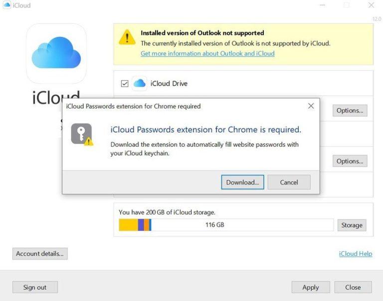 Apple vydal rozšíření pro Google Chrome na Windows, které synchronizovalo hesla z iCloud klíčenky. Následně jej zase stáhl