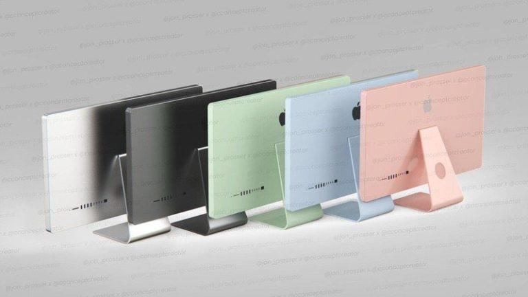 Nové počítače iMac pro rok 2021. Procesory Apple Silicon a údajně celkem pět barevných kombinací