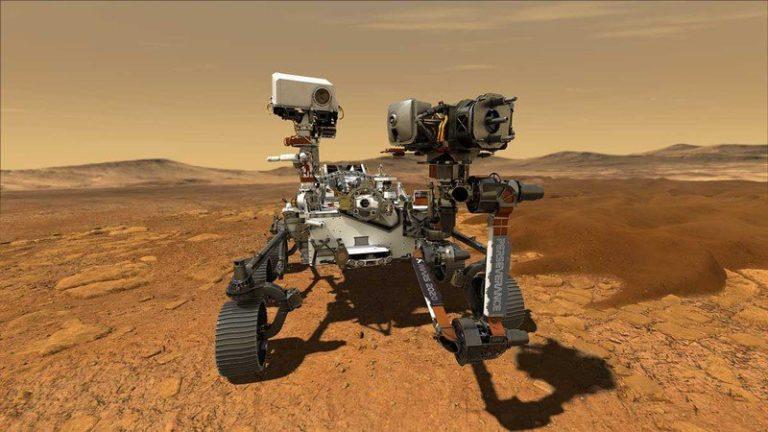 Vozítko Perseverance Rover od NASA objevuje Mars. Přitom používá stejný procesor jako iMac G3 z roku 1998