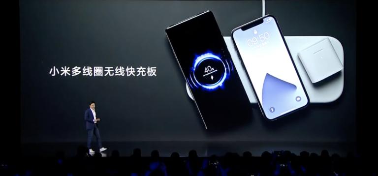 Xiaomi uvedlo na trh vlastní variantu AirPower. Bezdrátová nabíječka zvládá až tři zařízení současně