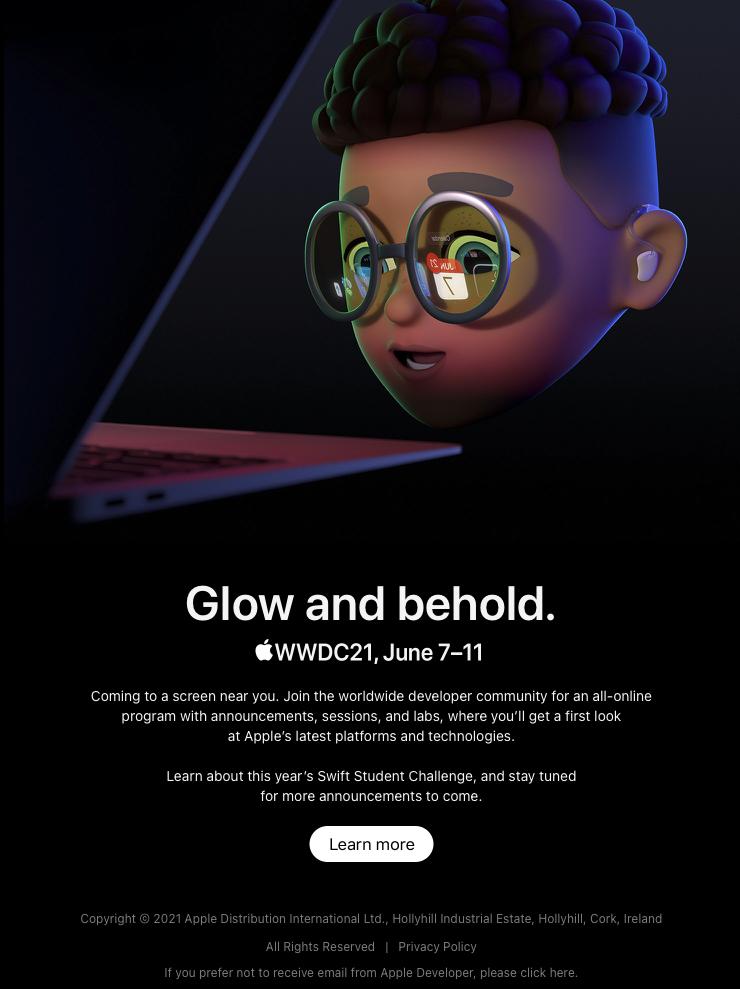 WWDC 2021 potvrzeno. Vývojáři se mohou těšit 7. června a opět online