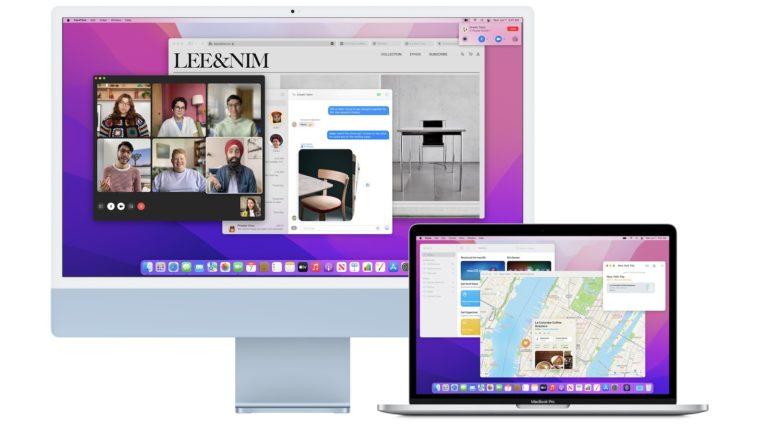 Nové Macy lze vzájemně použít jako externí monitor. Funkci přináší macOS Monterey