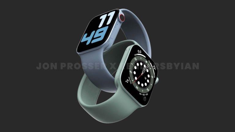 Apple Watch Series 7 v nových rozměrech a přepracovaném designu, tvrdí zdroj