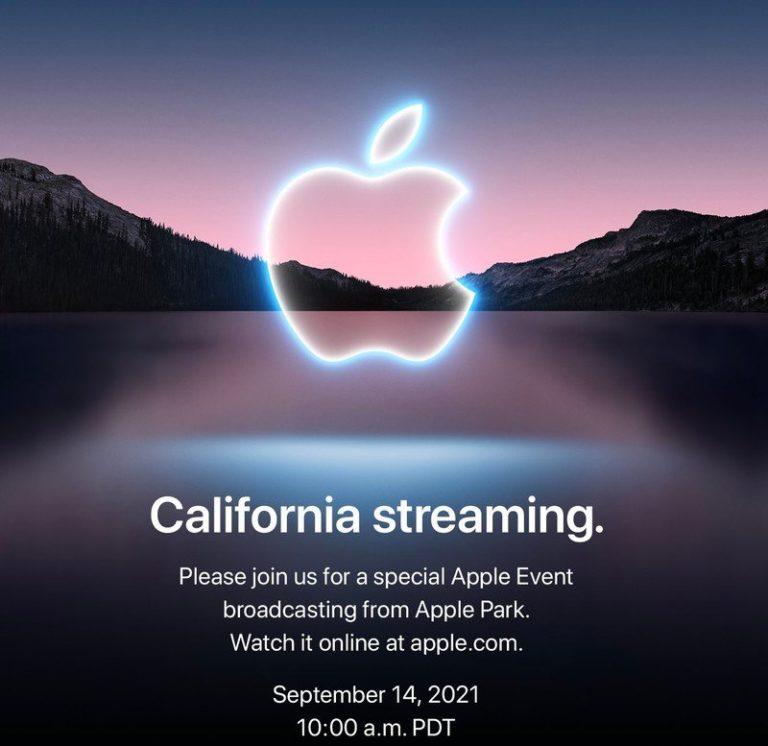 Keynote je tady. iPhone 13, Apple Watch Series 7 už 14. září