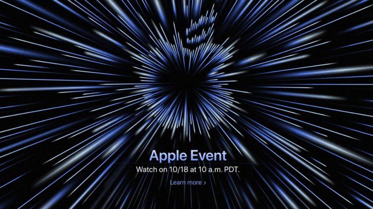 """Apple oznámil Keynote 18 října s mottem """"Unleashed"""". Očekávají se nové MacBooky Pro"""